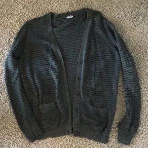 Dark green Fossil cardigan